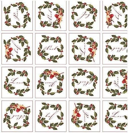 Christmas Traditions - Panel Squares ~27 on LOF