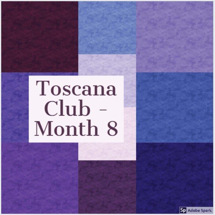 Toscana Club - 1/2 yd - Month 8