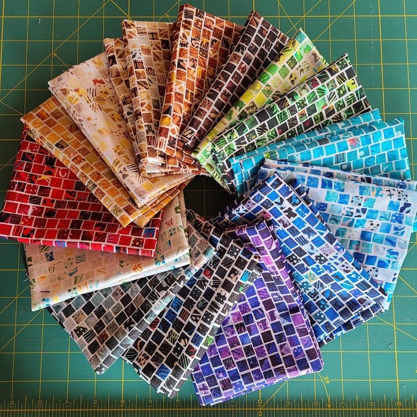 Mosaic Masterpiece - FQ Bundle