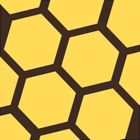 Honeycomb FREE Pattern - DIGITAL DOWNLOAD