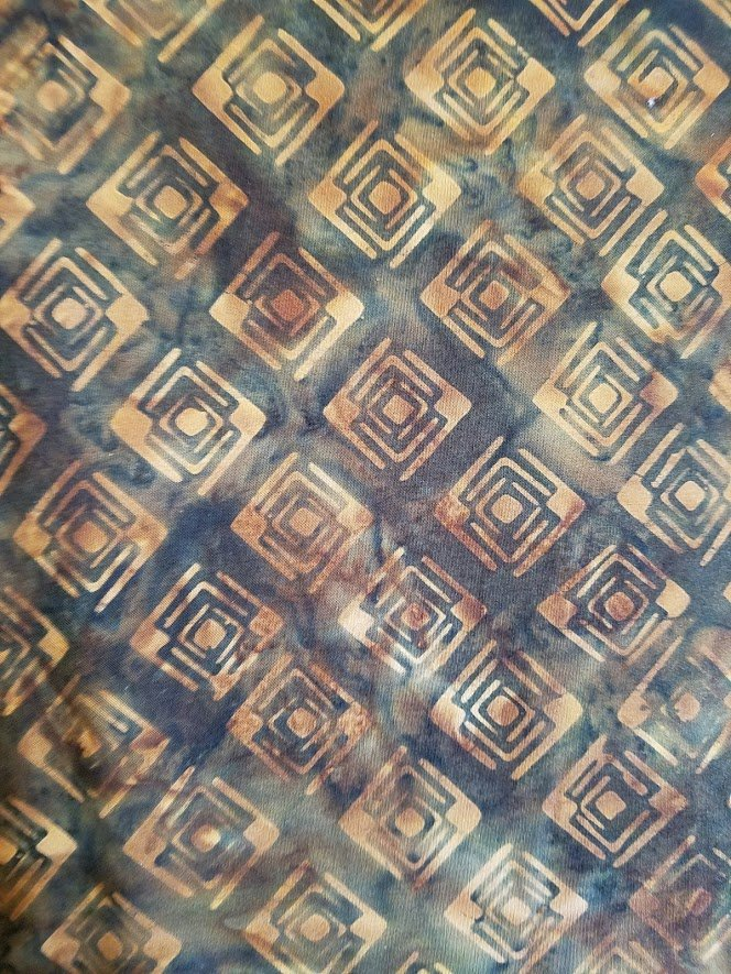 Galaxy Java Batik NDF6-02xx Brown Diamonds