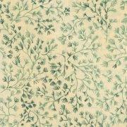 Westrade Textiles - Cream w/green twigs