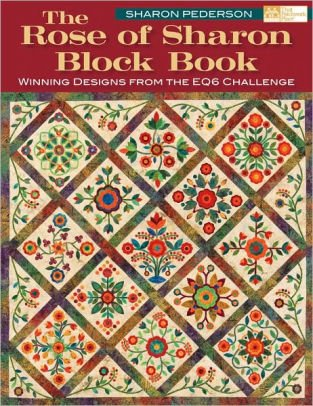 Rose of Sharon Block Book - includes design by Marlene