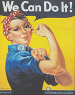 Rosie the Riveter - 12.125