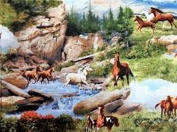 Running Wild - Horses