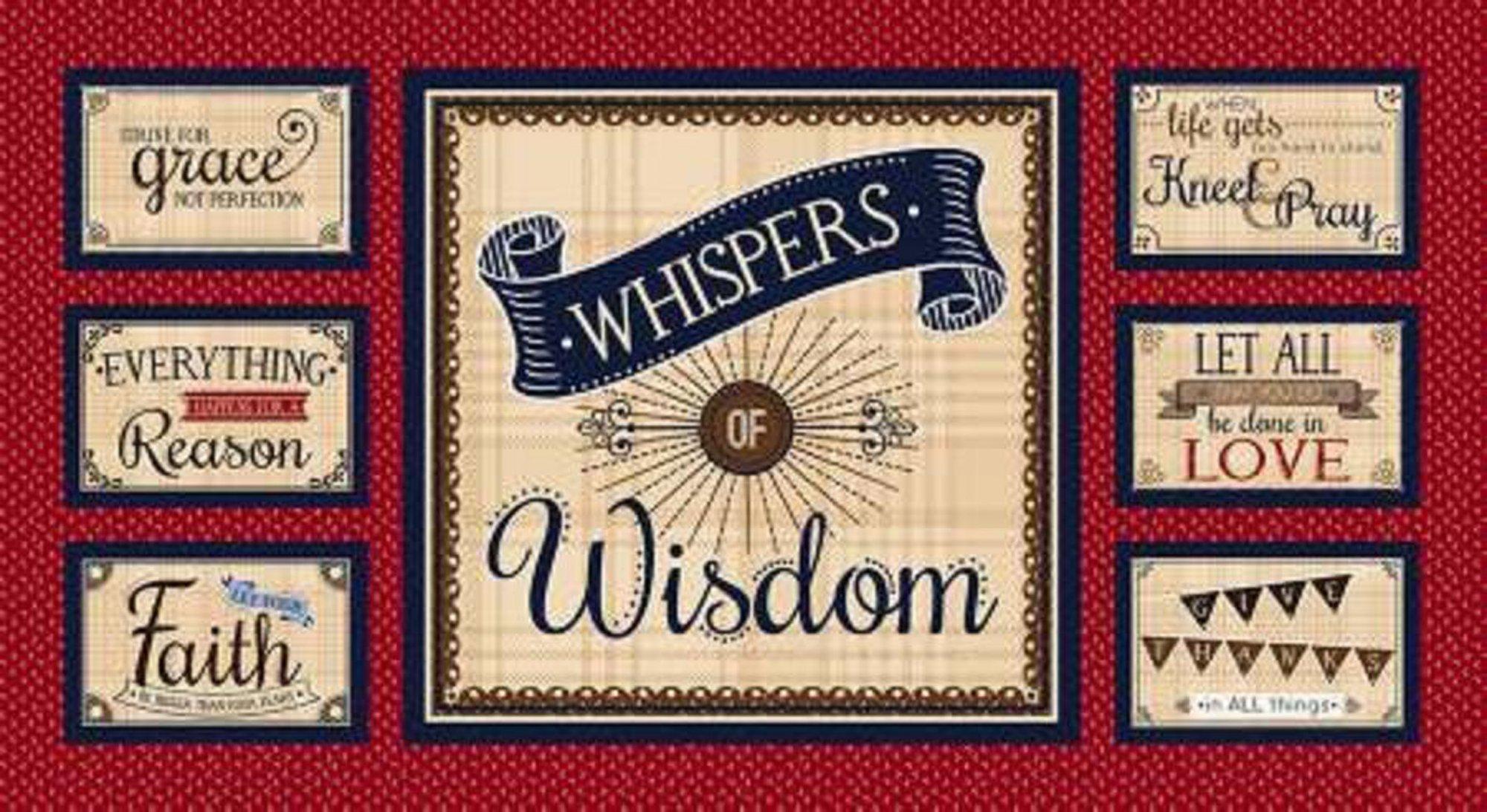 Henry Glass - Whispers of Wisdom panel