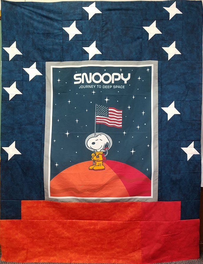 Snoopy Deep Space Kit w/Pattern