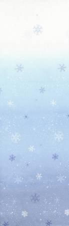 Snowflake Ombre Light to Medium