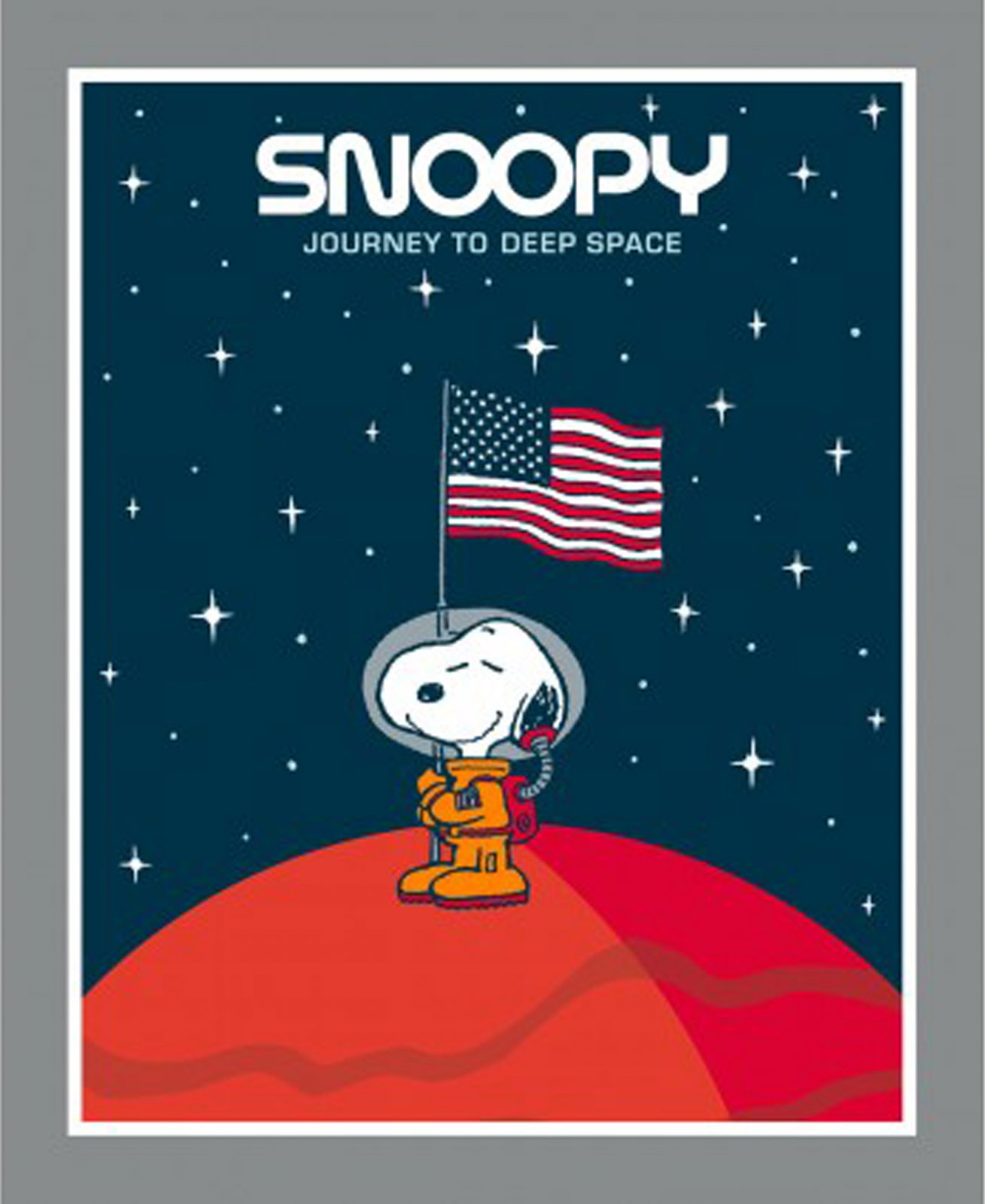 Peanuts - Snoopy Journey to Deep Space  - Panel