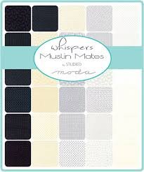 Whispers Muslin Mates - moda - Jelly Roll