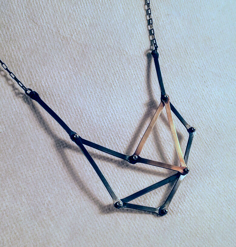 Geometric Dark Pendant