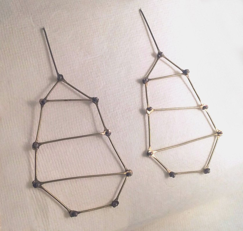 Geometric Ladder Earrings