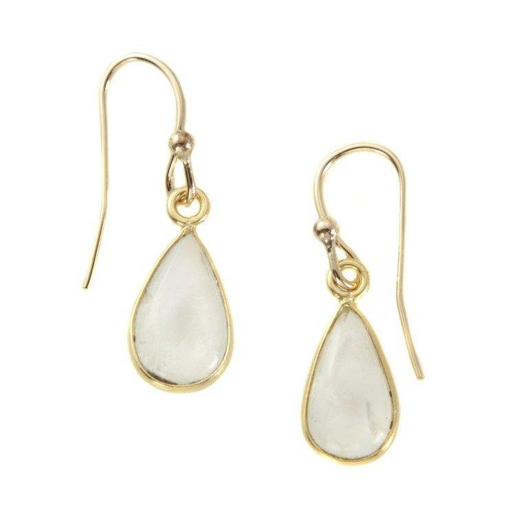 Moonstone Vermeil Earrings