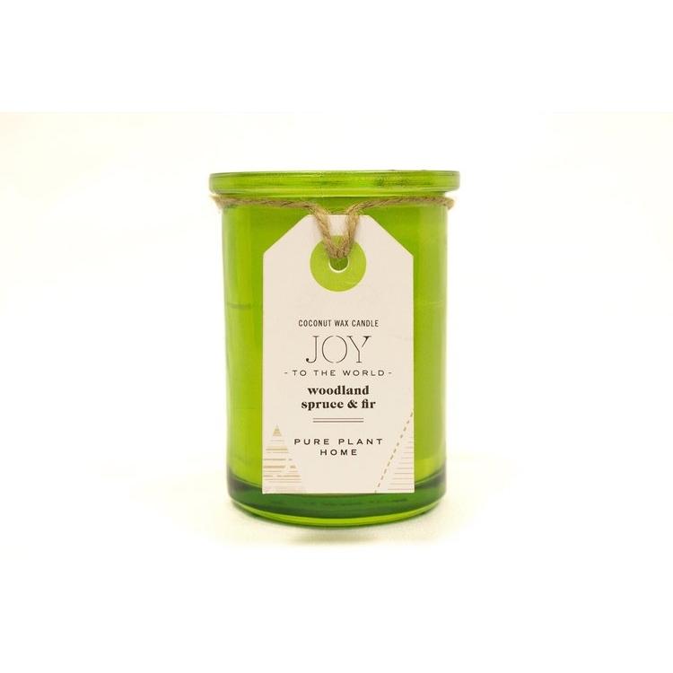 Spruce/Fir Glass Candle