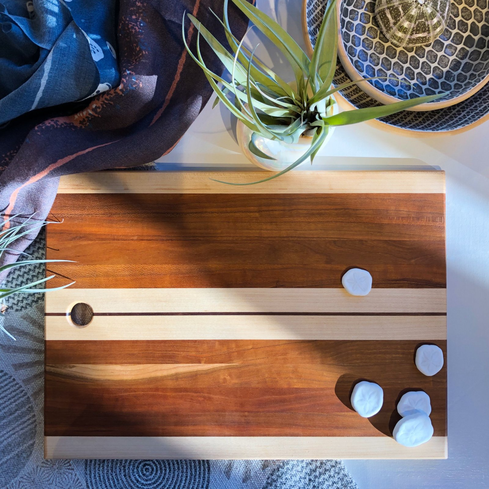 Striped Cutting/Serving Board