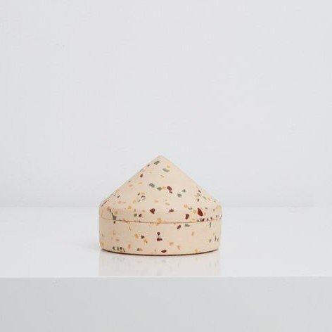 Blush Terrazzo Cone Box