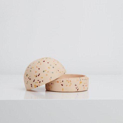 Blush Terrazzo domed box
