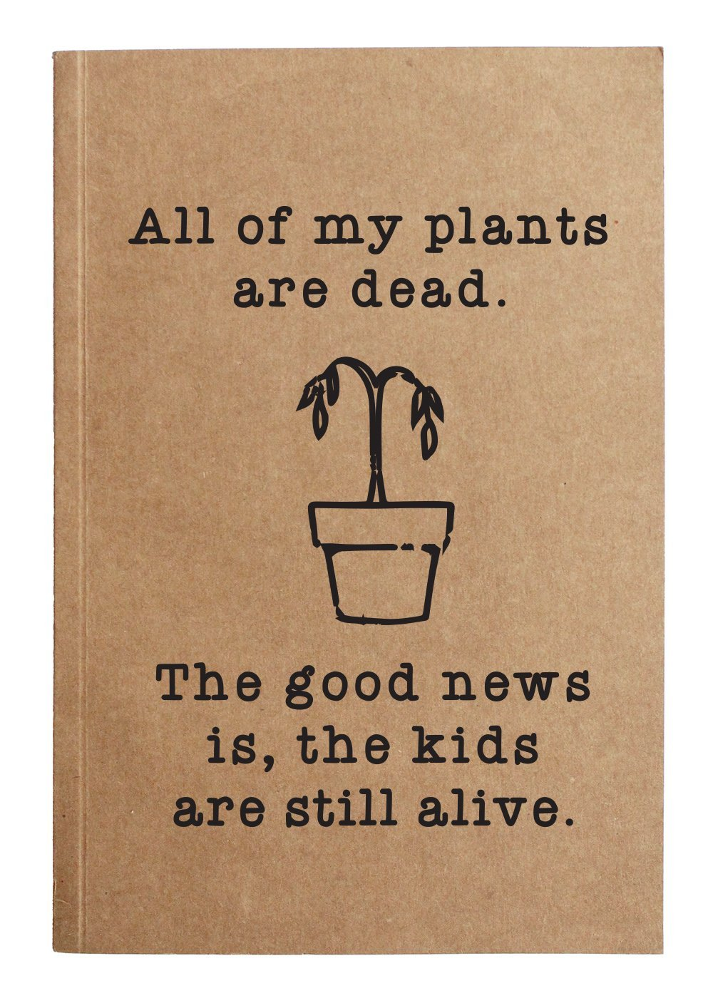 All My Plants Notebook
