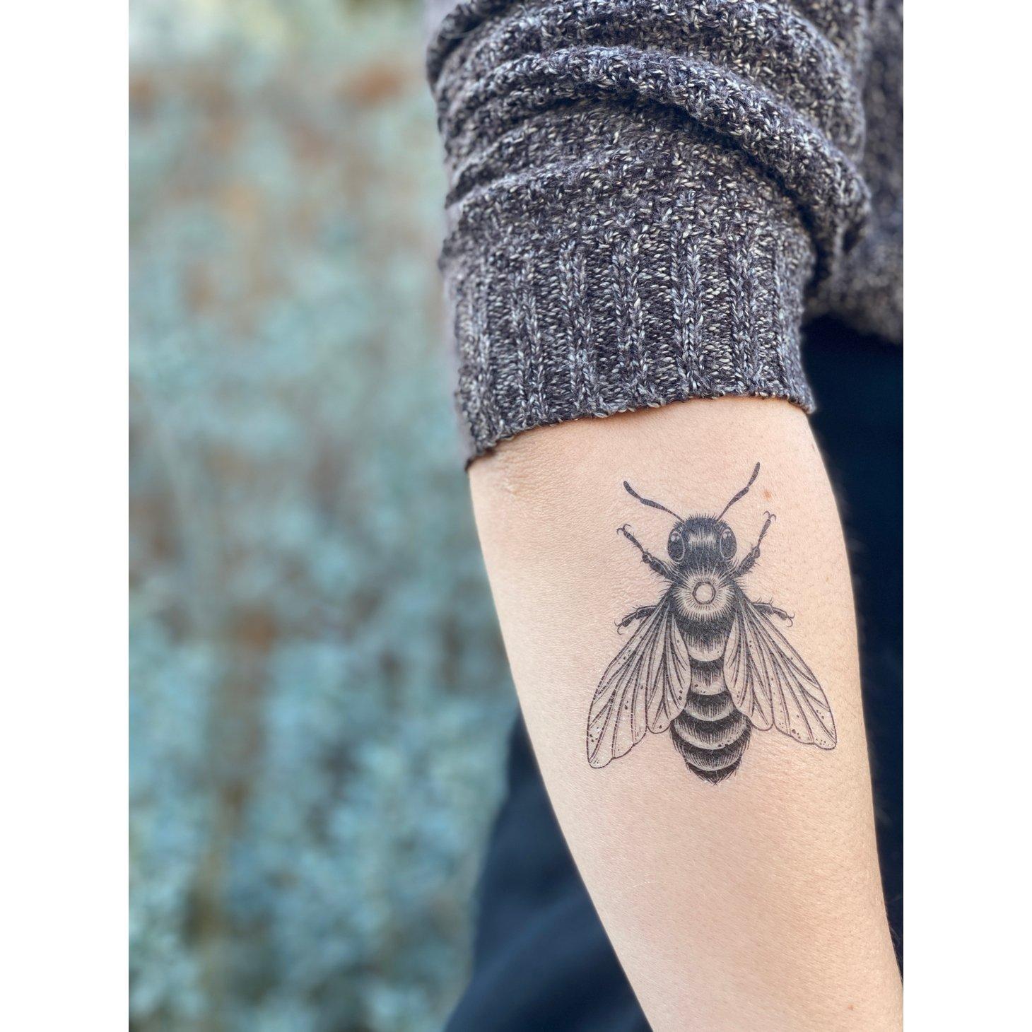 Nature Temporary Tattoo