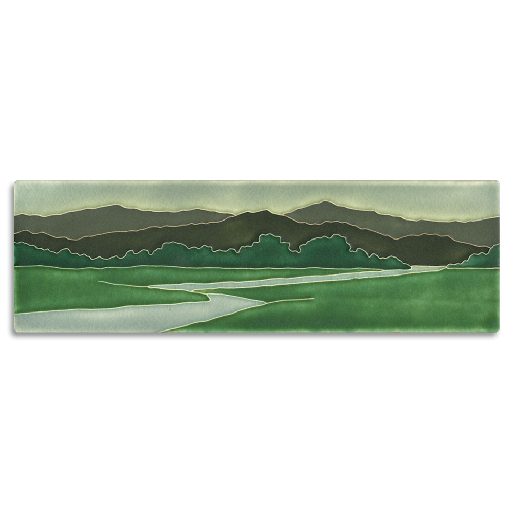 Long Riverscape Tile