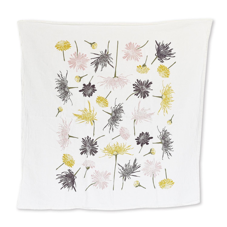 Chrysanthemums Towel