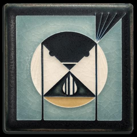 Seed Bandit on Grey Blue 4x4 Tile