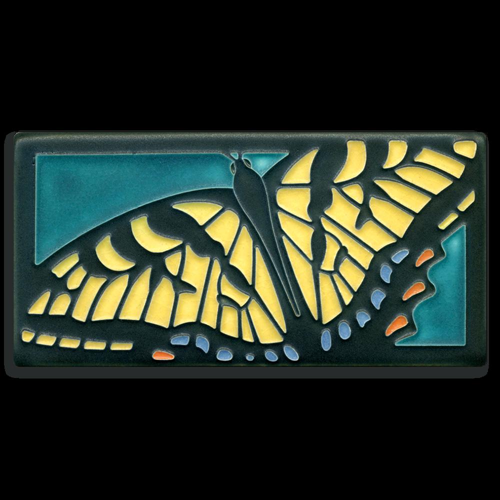 Swallowtail Butterfly 4x8 Tile