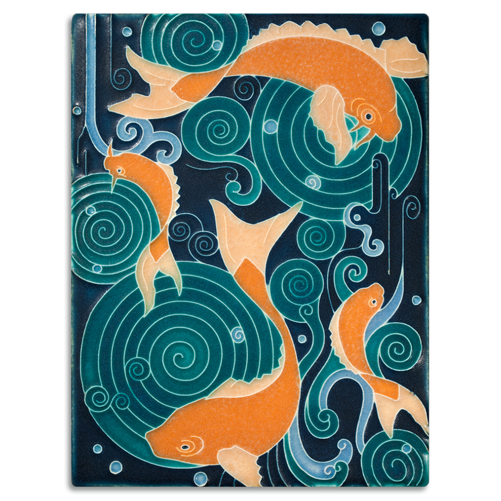 Koi Pond 6x8 Tile