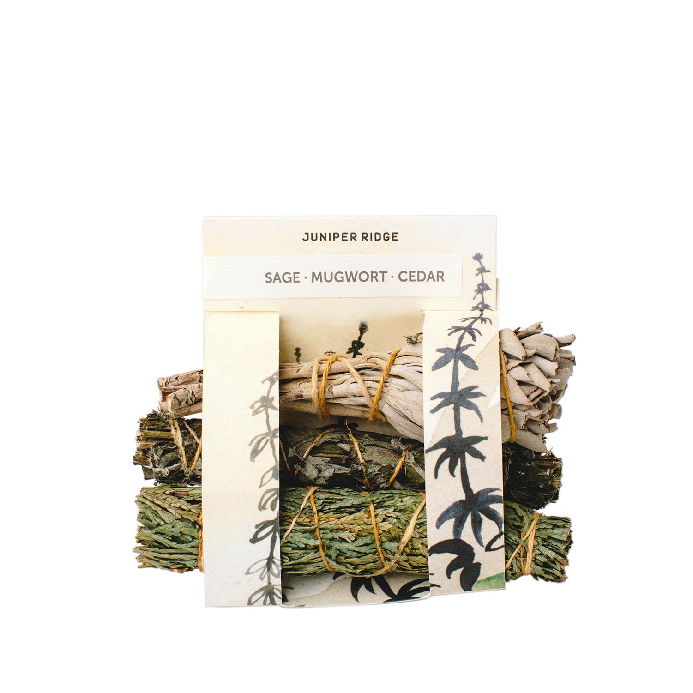 Cedar/Mugwort/Sage Natural Incense