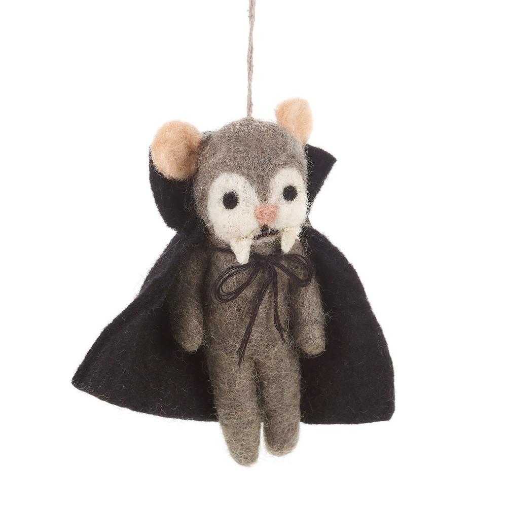 Victor Vampire Felt Ornament