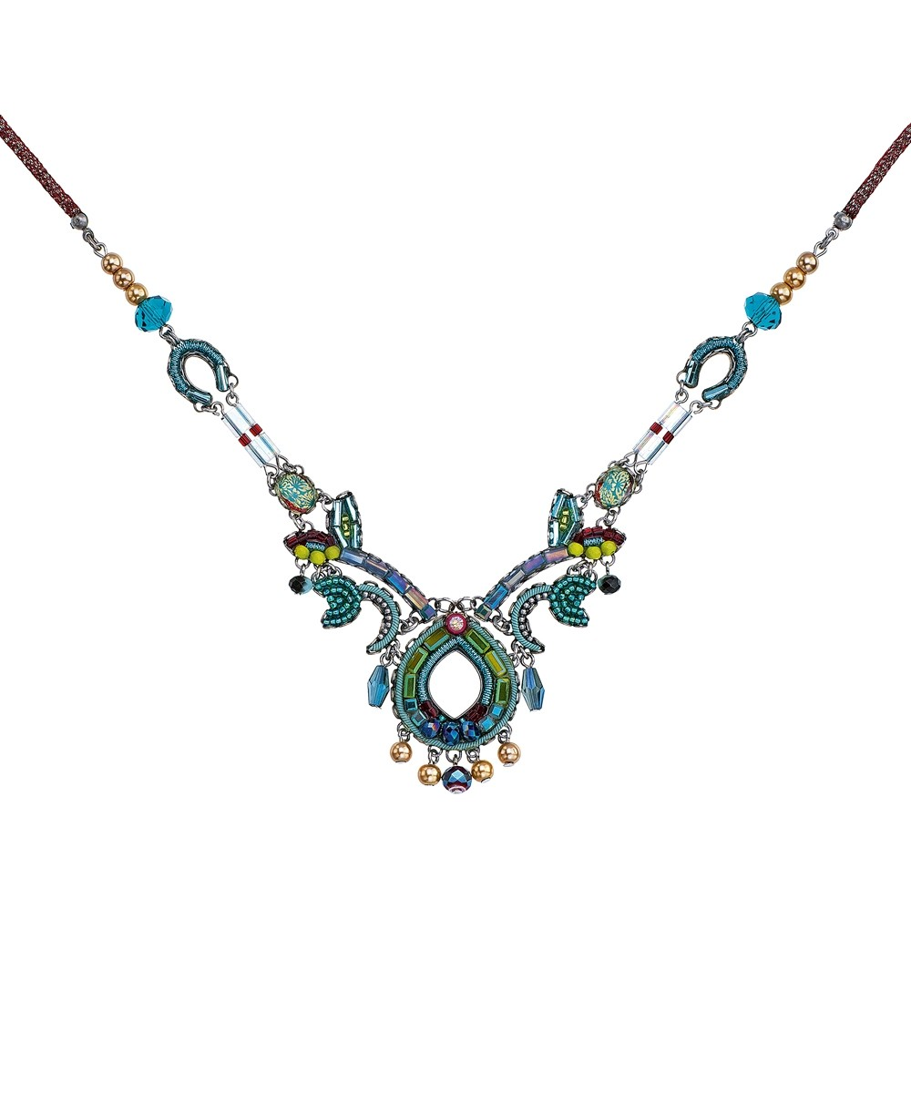 Turquoise Crown Navaeh Necklace