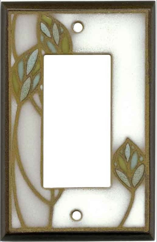 Three Leaves Switchplate