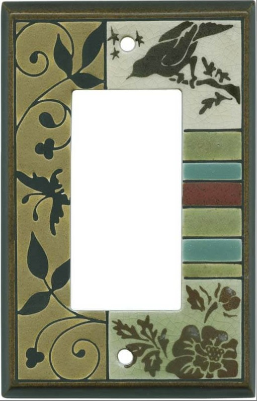 Bird Tapestry Switchplate