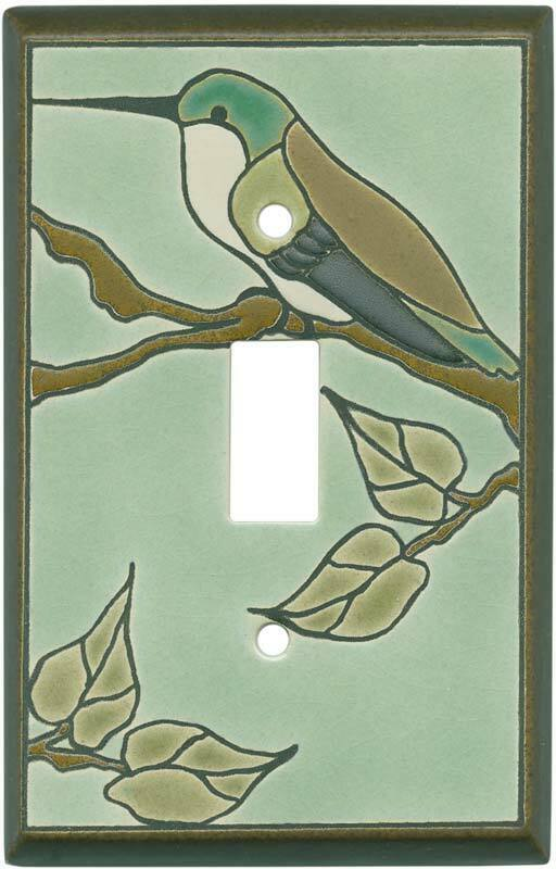 Hummingbird Switchplate