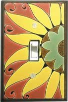 Mexican Sunflower Switchplate