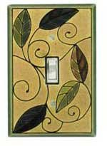 Mosaic Leaves Switchplate