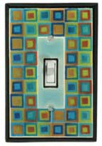 Art Glass Single Switchplate