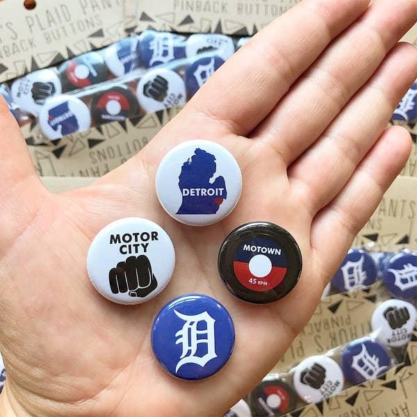 Detroit Magnet Set/4
