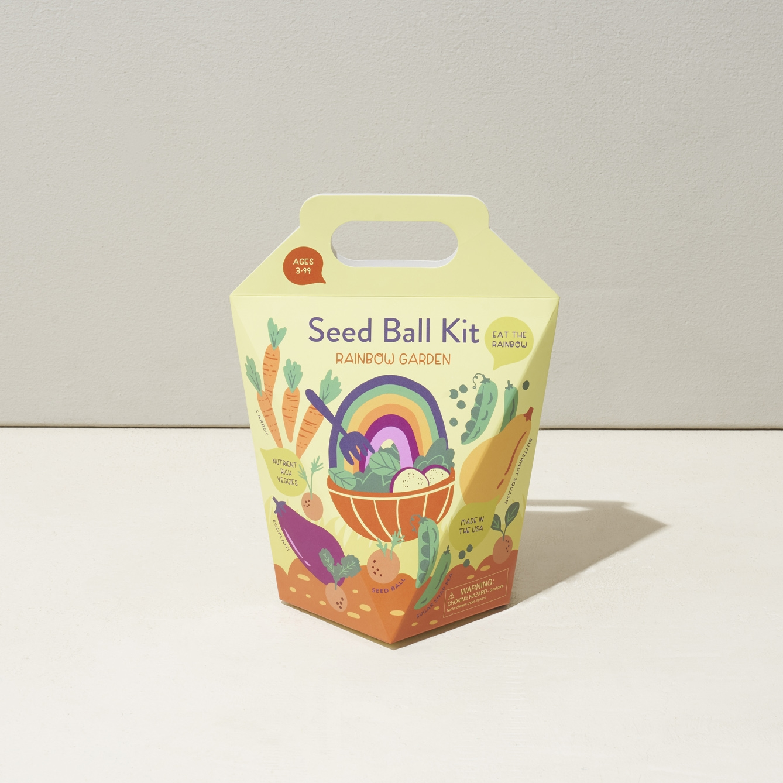 Rainbow Garden DIY Seed Ball Kit