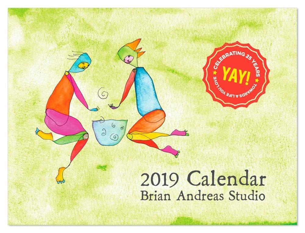 2019 Brian Andreas Wall Calendar