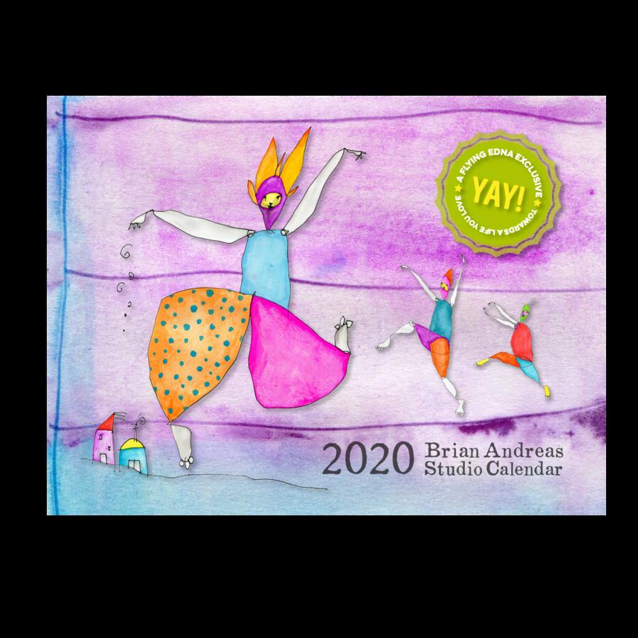 2020 Brian Andreas Wall Calendar