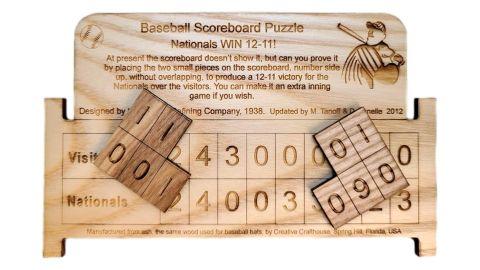 Baseball Scoreboard Puzzle