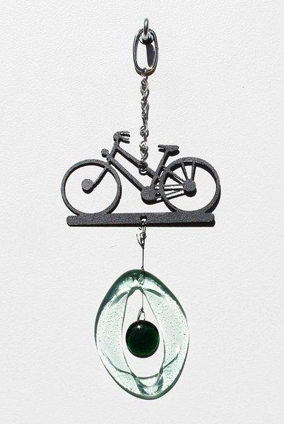 Metal Bike Glass Chime