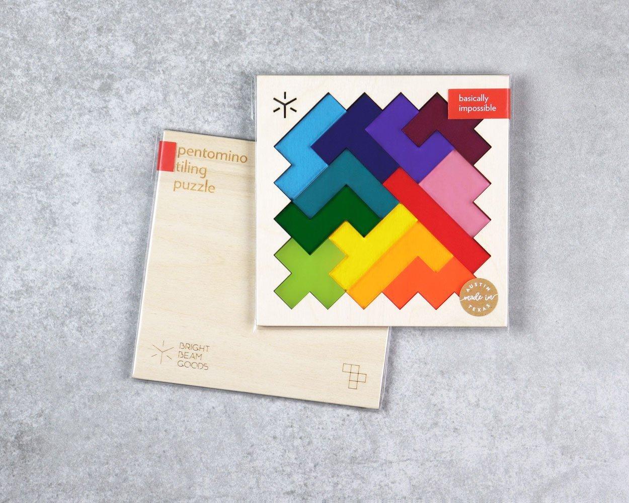 Square Pentomino Rainbow Puzzle
