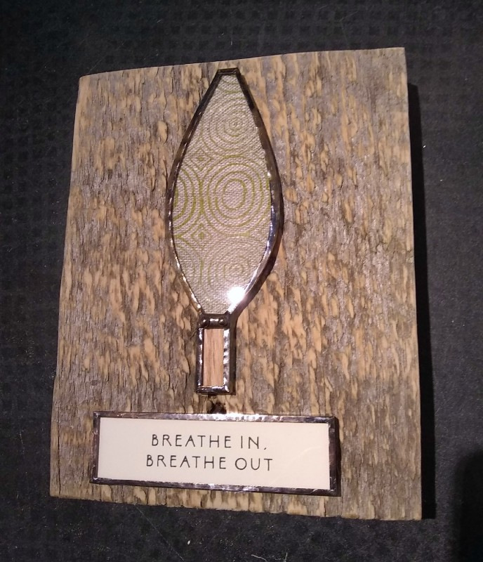 Wall Tile: 'Breath In Breath Out' Tree