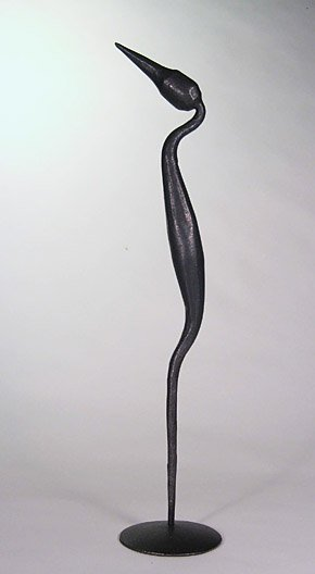 Small Heron Sculpture