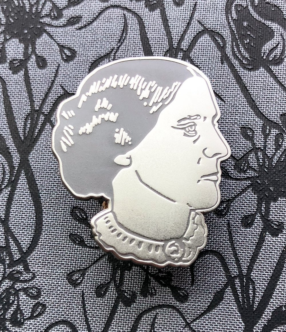 Susan B Anthony Enamel Pin
