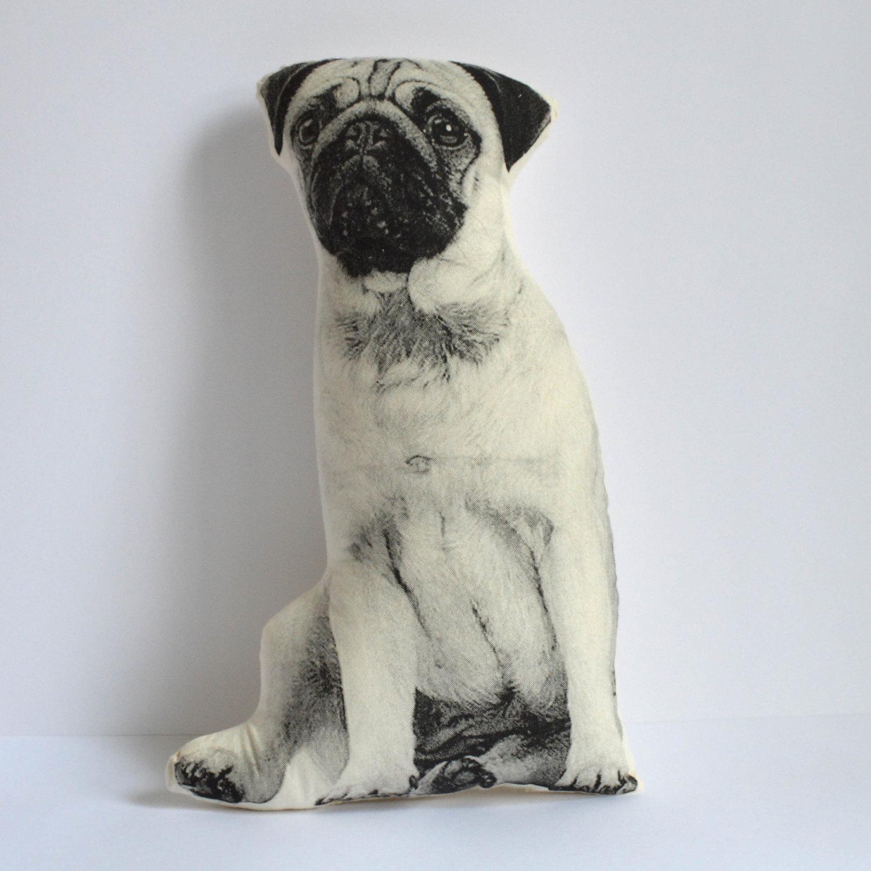 Pug Pillow