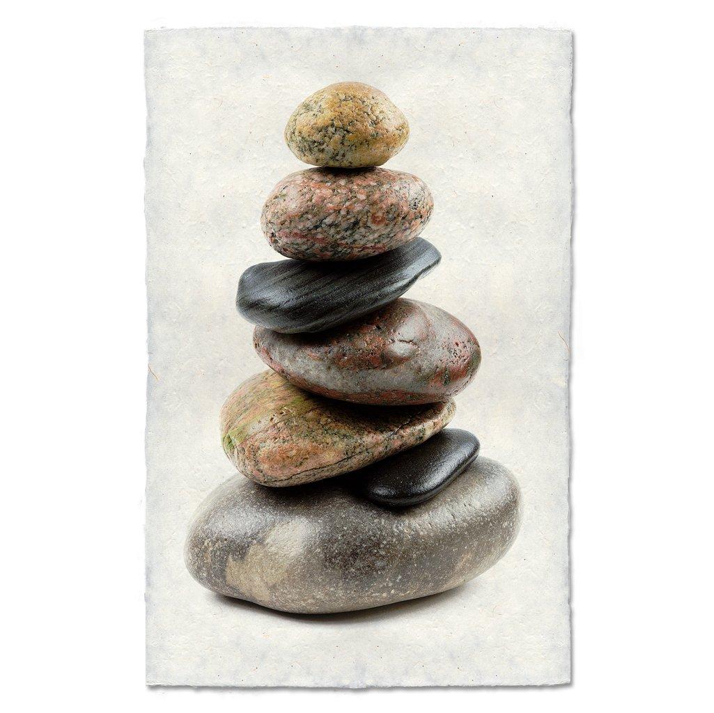 Balanced #7 Print on Nepalese Paper