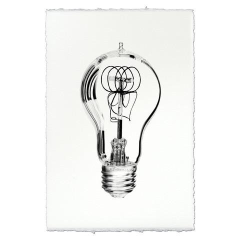 Victorian Bulb 9x14 Print on Nepalese Paper